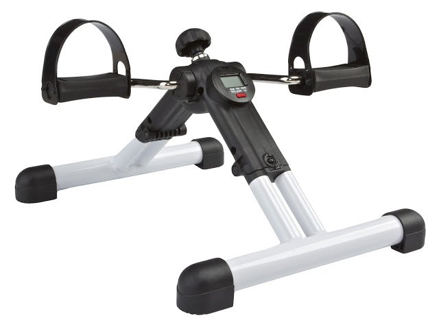 Carepeutic BetaFlex Portable Dual Exercise Bike Fully Assembled and yet Foldable with Pedometer