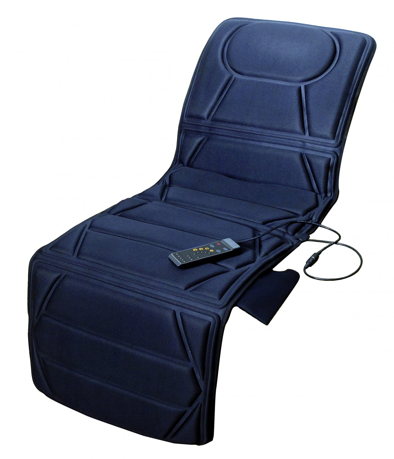 Carepeutic Targeted Zone Deluxe Vibration Massage Mat with Heat Therapy