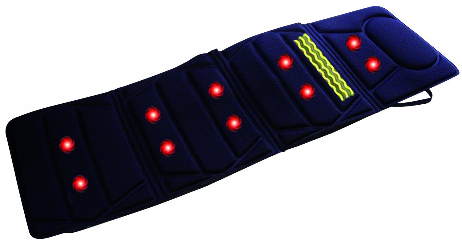 Carepeutic Do-It-All Deluxe Vibration Massage Mat with Heat
