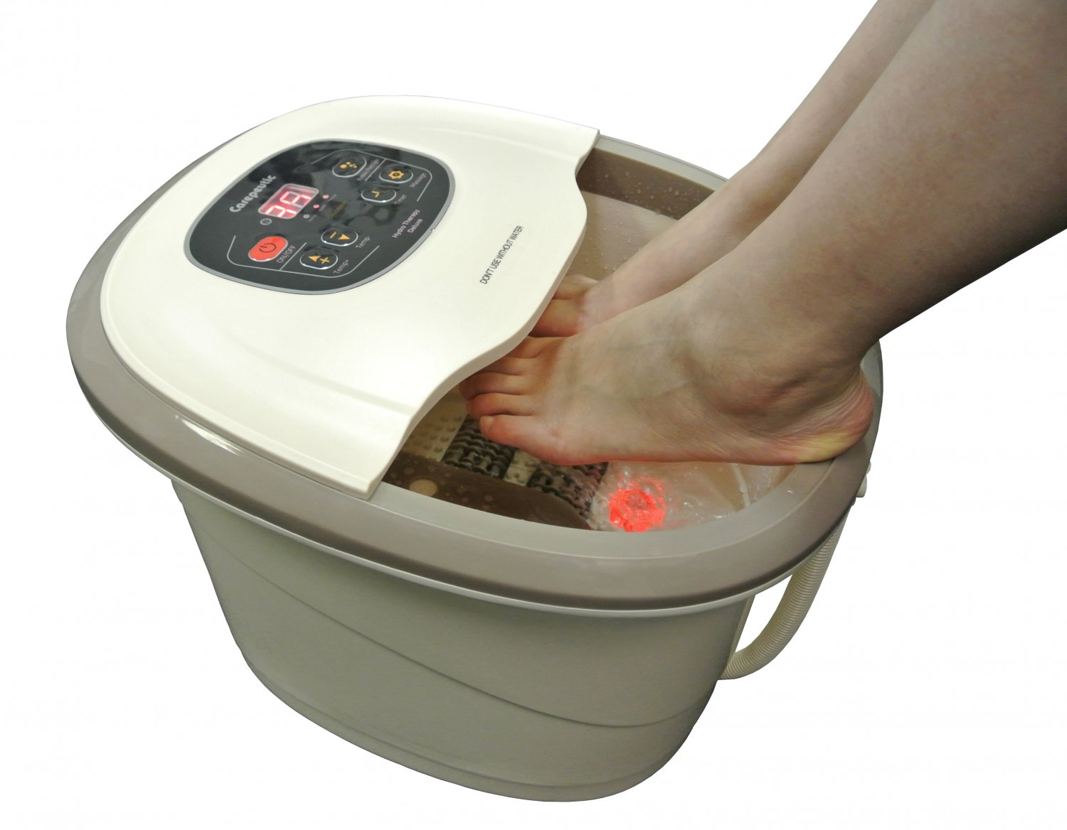 carepeutic motorized hydro therapy foot and leg spa bath