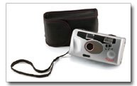 LEX35 Camera With Built In Flash And Carrying Case