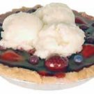 9 Inch Very Berry Alamode Pie Candle