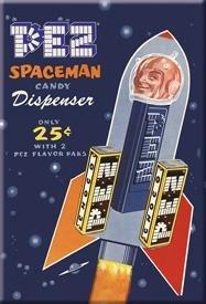 PEZ - Spaceman Magnet