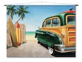 CANVAS: Beach Woody