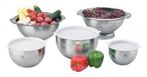 9pc Collander and Mixing Bowl Set
