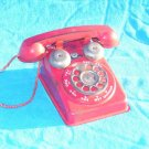 ANTIQUE STEEL STAMPED TOY PHONE THE STEEL STAMPING CO.