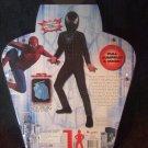 NEW Black Spider Man Child Costume Size 7-8 Jumpsuit