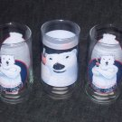COCA COLA  Lot of 3 Gangster & Cool Polar bear Glasses