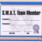 SWAT Team Certificate - #11385112