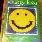 SMILY FACE PILLOW KIT NEW IN BOX KRAFTY KIDS