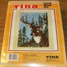 MAJESTIC DEER LATCH RUG KIT FROM TINA OF CALIFORNIA NEW