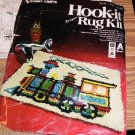 VOGART TRAIN LATCH HOOK KIT -FUN TO MAKE FOR SELF/GIFT