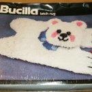 FURRY BEARSKIN RUG FROM BUCILLA - GREAT FOR CHILDREN