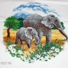 Elephant Screen Print Design - Tote Bag,Shrit,Pillow
