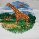 Giraffe Screen Print Design - Tote Bag,Shrit,Pillow