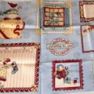 Christmas Wishes Fabric Gift Tags,Decorate Pkgs n Style