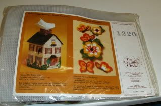COTTAGE BOTIQUE TISSUE BOX COVER FROM CREATIVE CIRCLE