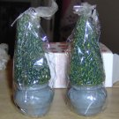 EVERGREEN CANDLES - VERY CUTE