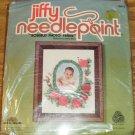 Rosebud Needlepoint Photo Frame - Sweet From Sunset 1