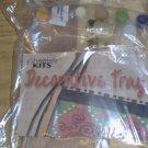 DECORATIVE TRAY FROM DECORATIVE KITS - PRETTY, USEFUL