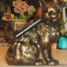 Brass Kitten From Classic Treasures - Fine Detail- Cute