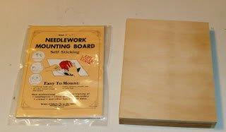 Needlework Mounting Board Self Sticking,Easy to Use,5x7
