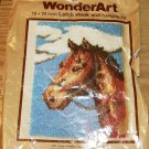 "HORSEHEAD IN CLOUDS 18"" X 24"" WALL HANGING WONDERART LH"