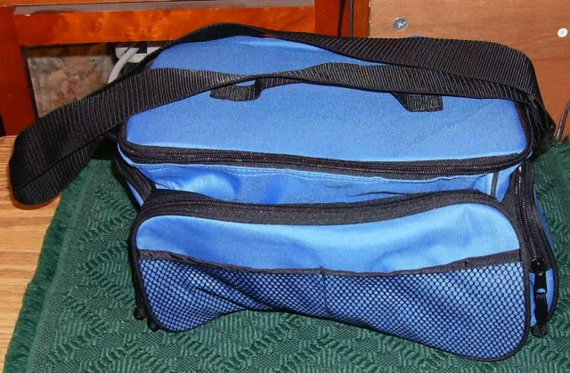 NICE BLUE VIDEO CAMERA BAG OR OTHER USES NEW