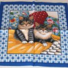 Cute Kitten Piece Mini Pillow Panel