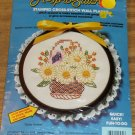 DAISY BASKET LACE TRIMMED PICTURE FROM CREATIVE MOMENTS