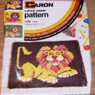 LION RUG/WALLHANGING PATTERN FROM CARON - CUTE & FUN