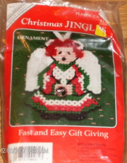 CHRISTMAS JINGLES ANGEL  FAST & EASY GIFT GIVING
