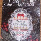 DESIGNS LACE ORNAMENT MERRY CHRISTMAS