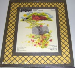 PRETTY PARAGON COUNTRY SCENE WITH FRAME