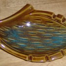 Brown Ash Tray, Vintage From Maurice of California