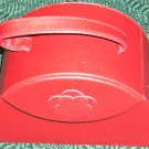 NOVELTY RED PURSE TRAVEL JEWELRY BOX - NEW - DIFFERENT