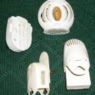 4 AROMATIZERS-3 GLADE 1 AIRWICK OUTLET PLUGS ADJUSTABLE