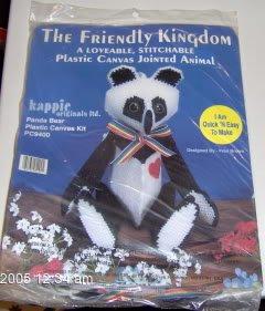 LOVEABLE JOINTED PANDA BEAR  , NIP