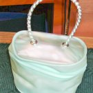 Sweet Little Green Bag, Fancy Handle, Lots of uses,New