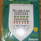 JANLYNN SEEDS OF LOVE BANNER DREAMS WILL GROW NIP