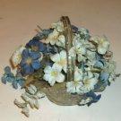 Flower Basket,Pretty Flowers,Clear Basket,Cute Decor