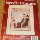 PANDOS BOX NEEDLE TREASURES COLORART CREWEL NIP
