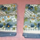 Beautiful Blue Floral Kitchen Towels From Kitchenworks