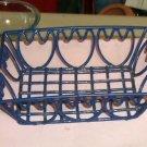 Blue Tulip Wire Basket,Very Sturdy,Decorative,Useful