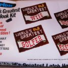 WORLD GREATEST LH RUG/WALL HANGING KIT-PERFECT GIFT