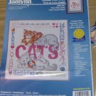 HERE KITTY KITTY- XSTITCH PICTURE FROM JANLYNN - SWEET