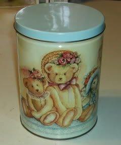 Teddy Bears & Hats,Debra Jordan Meyer Design,1989 Tin