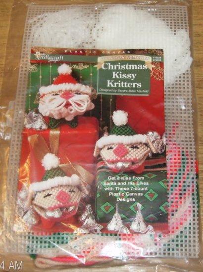 CHRISTMAS KISSY CRITTERS  XMAS TRIMMING  NC SHOP 1