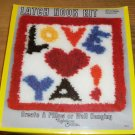 LOVE YA LATCH KIT BY RAINBOW MILLS -GREAT KIDS KIT