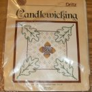 OAK LEAVES AND ACORNS VINTAGE PILLOW KIT FROM DRITZ NIP